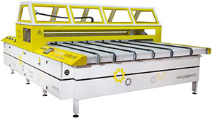The M.R.C-2850 glass painting machine